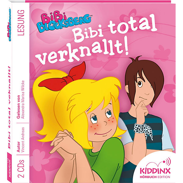 Bibi Blocksberg: Bibi total verknallt!, 1 Audio-CD