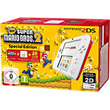 Nintendo 2DS weiss/rot + New Super Mario Bros. 2
