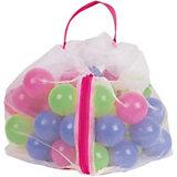 PE-Bälle 50-tlg. pink/grün/blau