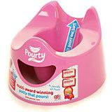 Детский горшок Easy Pourty, розовый