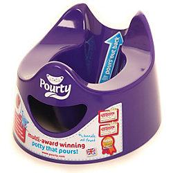 Детский горшок Easy Pourty, фиолетовый