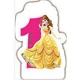 """Объемная свечка """"Принцессы"""" 1 год , Принцессы Дисней"""