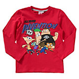 PHINEAS AND FERB Langarmshirt