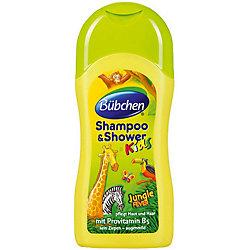 Шампунь для мытья волос и тела Зов джунглей, Bubchen, 230 мл.