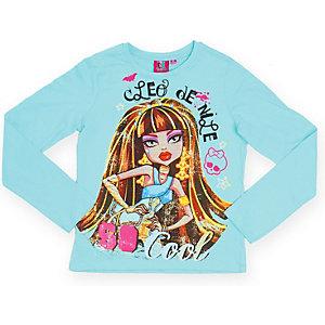 Футболка с длинным рукавом для девочки Monster High - разноцветный