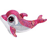 Beanie Boo Delfin Sparkles ,15 cm