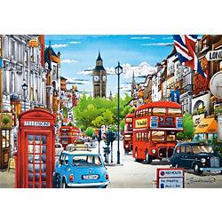 """Пазл """"Лондон"""", 1500 деталей, Castorland"""
