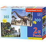 """Набор пазлов """"Динозавры"""", 165*240 деталей, Castorland"""