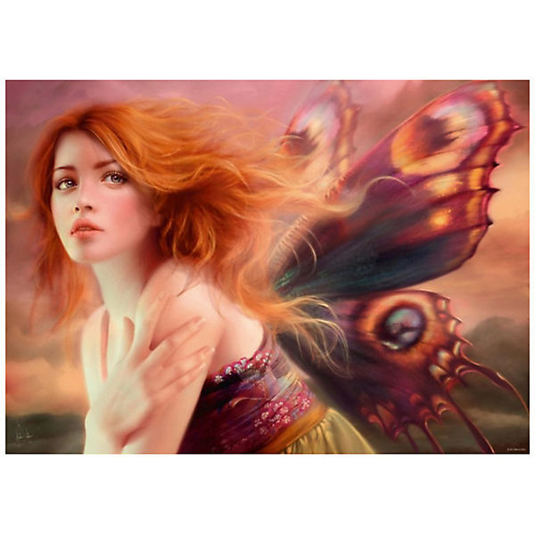 "Пазл ""Фея с крыльями бабочки"", 1000 деталей, Heye"