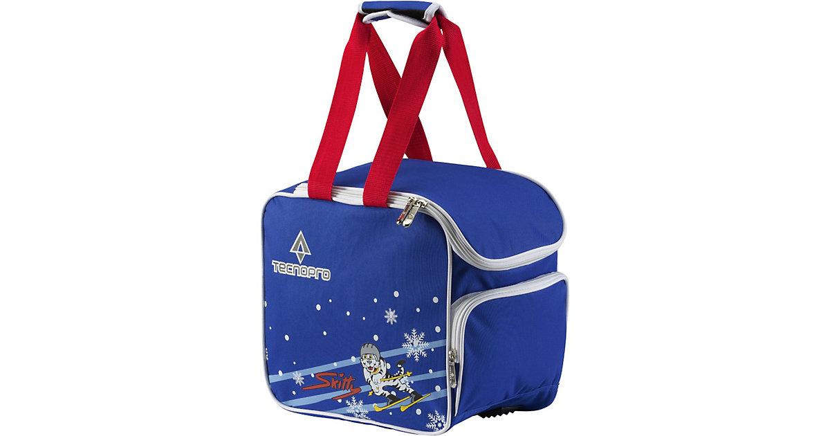 Skischuhtasche Skitty blau/rot