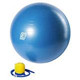 Gymnastikball mit Pumpe türkis