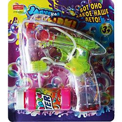 """Мыльные пузыри """"Пистолет прозрачный"""