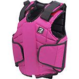 HORKA Sicherheitsreitweste FLEXPLUS BODYPROTECTOR für Mädchen, pink