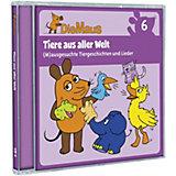 CD Die Sendung mit der Maus 06 - Tierisches Vergnügen mit der Maus