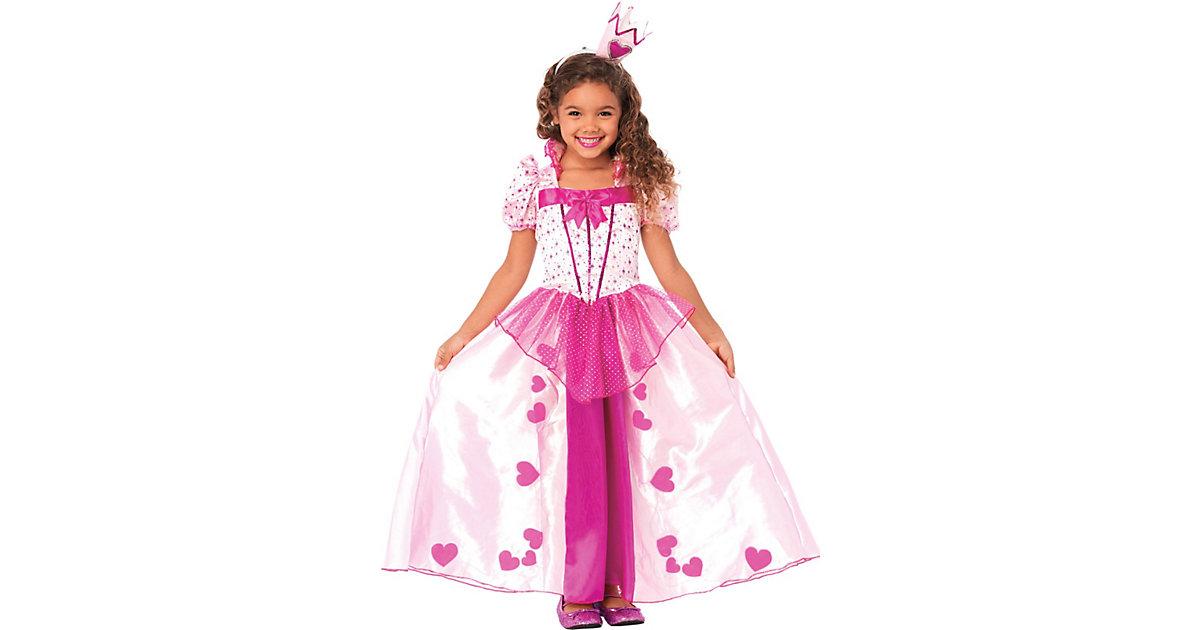 Kostüm Herzchen Prinzessin Gr. 104 Mädchen Kleinkinder