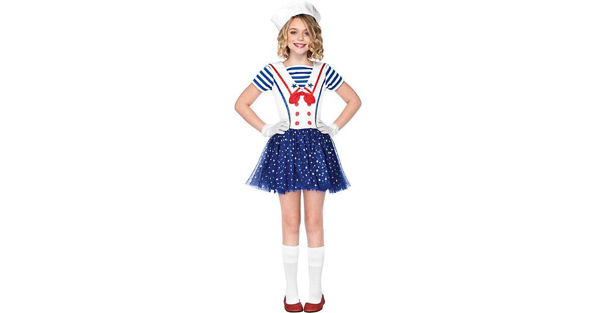 Kostüm Traummschiff Matrosin Gr. 146/158 Mädchen Kinder