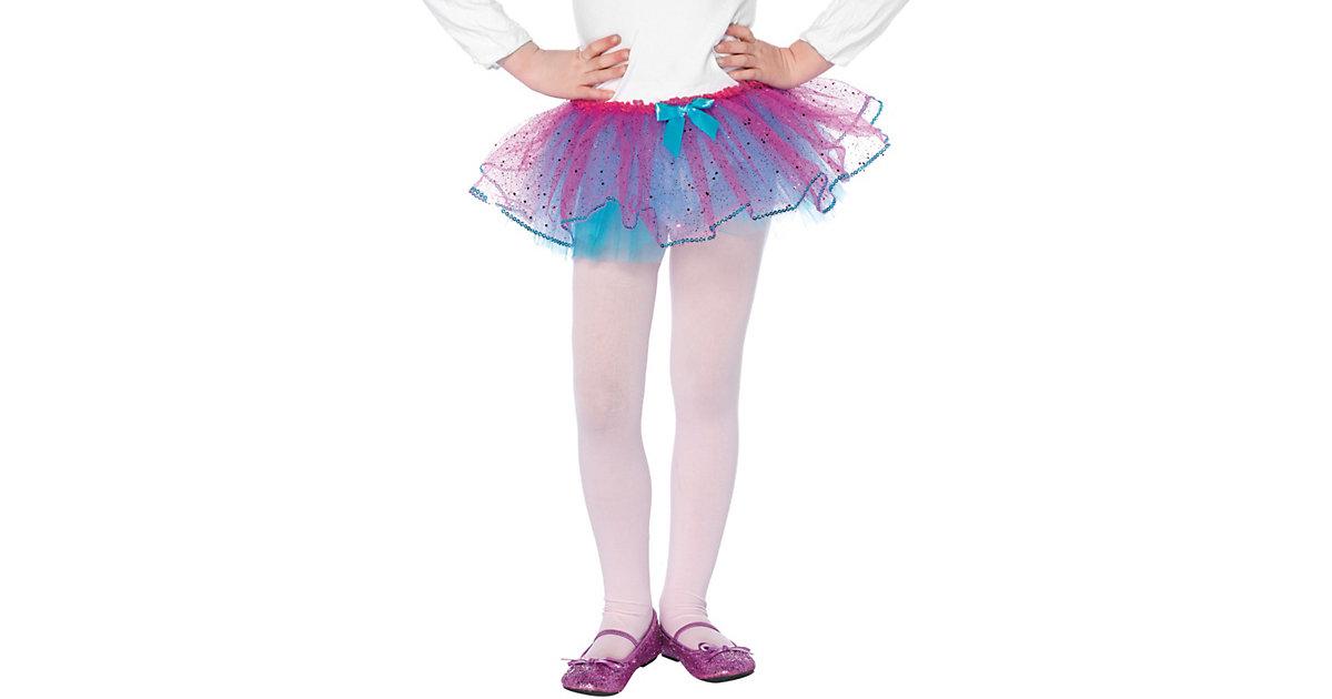 Petticoat für Kinder türkis-pink Mädchen Kinder