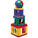 Пирамидка с подвижными элементами, TOLO CLASSIC