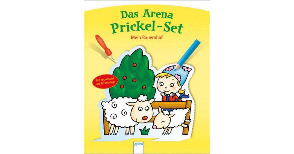 Buch - Das Arena Prickel-Set: Mein Bauernhof