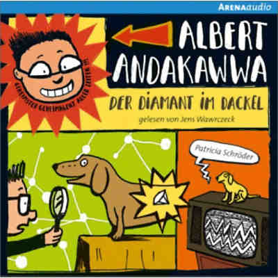 Albert Andakawwa: Der Diamant im Dackel, Audio-CD