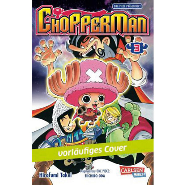 Chopperman, Band 3