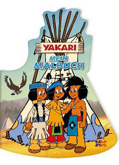 Yakari mein malbuch mytoys for Kinderzimmer yakari
