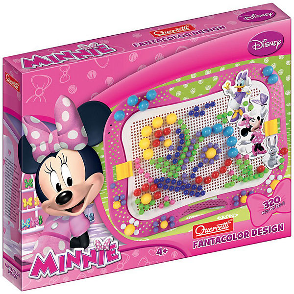 Quercetti Fanta Color Minnie Mouse, 320-tlg.