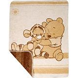 Kuscheldecke Winnie Pooh und Tigger, 75 x 100 cm