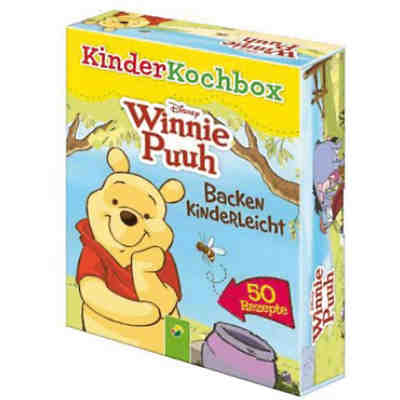 Disney Kinderkochbox: Winnie Puuh, 50 Rezeptkarten