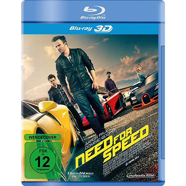 BLU-RAY Need for Speed (3D Vers.)