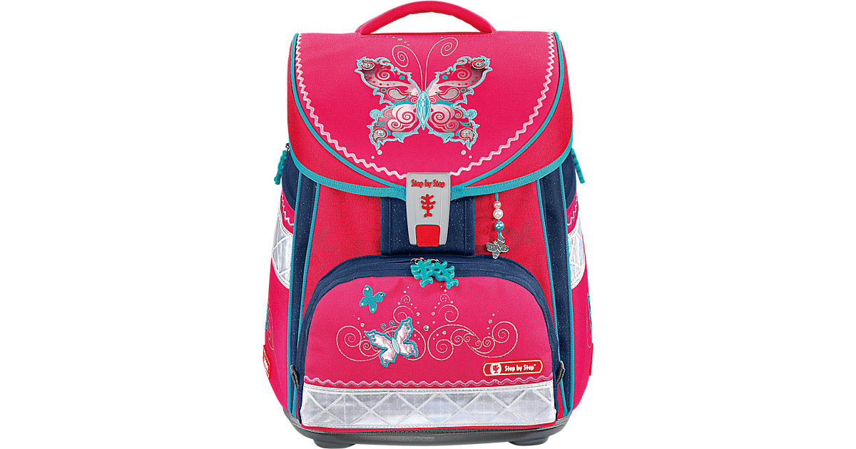 Comfort Schulranzen-Set Butterfly Dancer, 4-tlg.