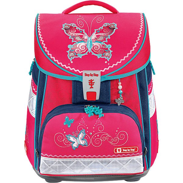 Step by Step COMFORT Schulranzenset Butterfly Dancer, 4-tlg.