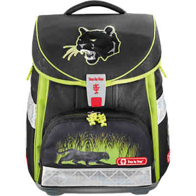 Step by Step COMFORT Schulranzenset Wild Cat, 4-tlg.