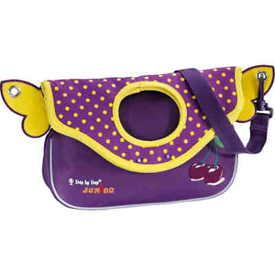 Step by Step Junior Kindergartentasche Alpbag Girls Purple Cherry
