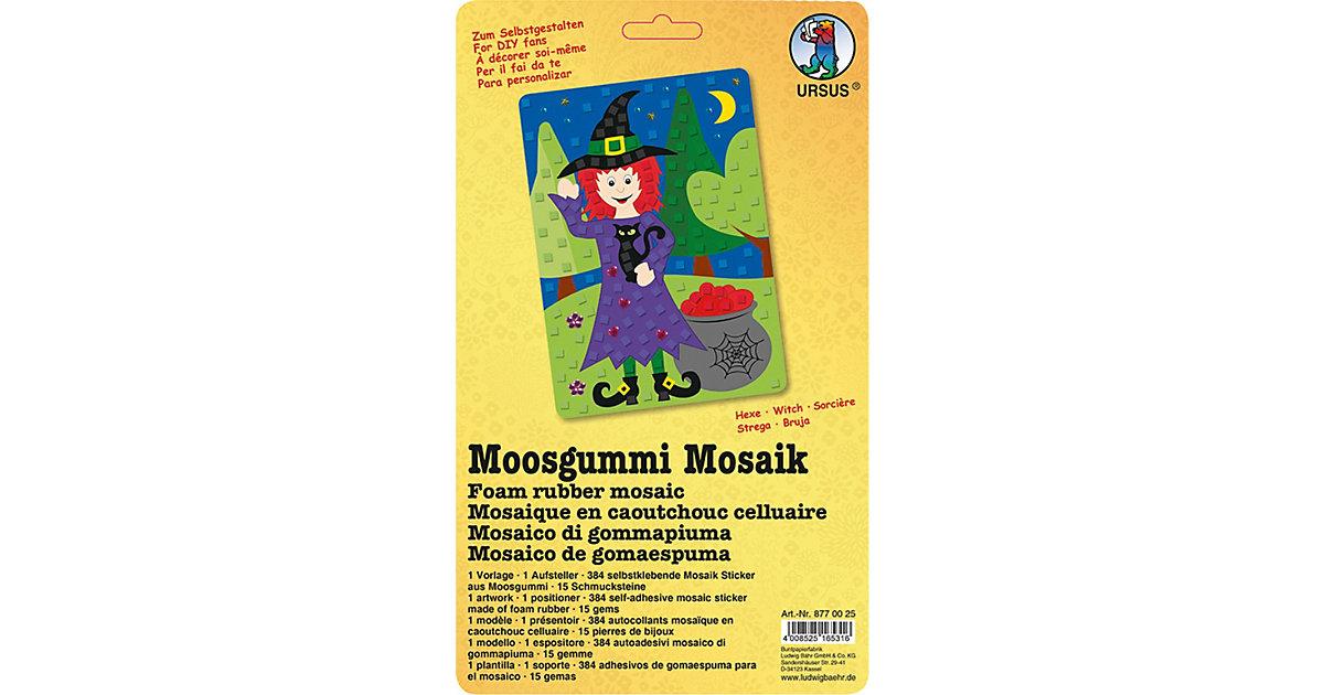 Moosgummi Mosaik Hexe