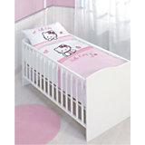 Kinderbettwäsche Hello Kitty, Coccinelle, Linon, 100 x 135 cm