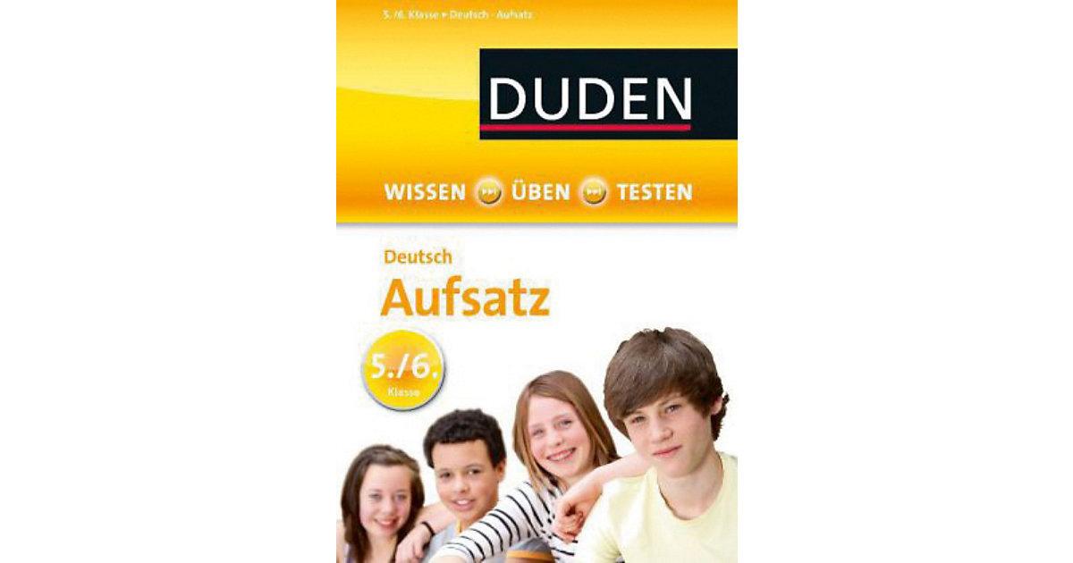 Buch - Duden: Deutsch - Aufsatz 5./6. Klasse
