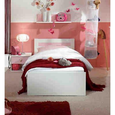 Wimex Jugendbett CINDERELLA, alpinweiß/rosé