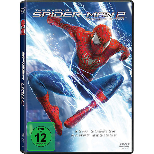 DVD The Amazing Spider-Man 2 - Rise of Electro