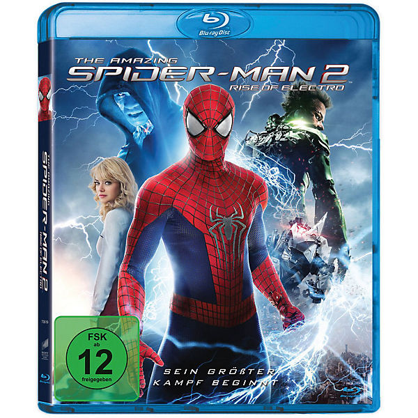 BLU-RAY The Amazing Spider-Man 2 - Rise of Electro