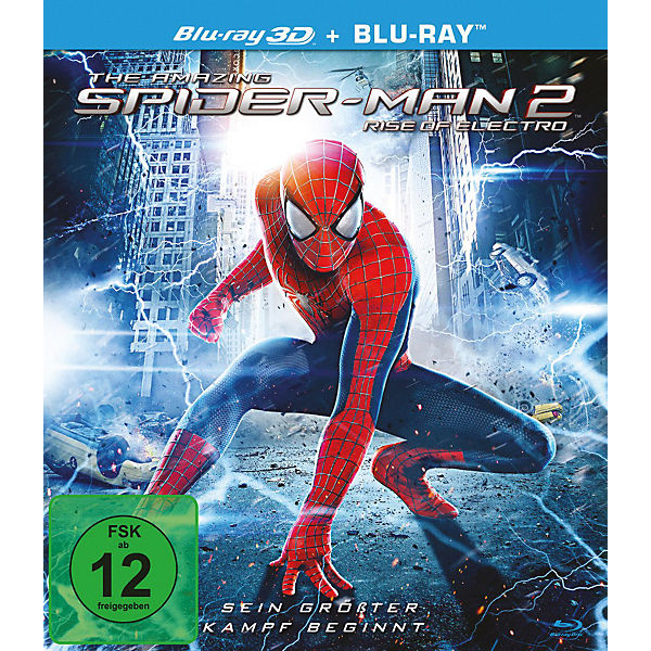 BLU-RAY The Amazing Spider-Man 2 - Rise of (3D Vers.)