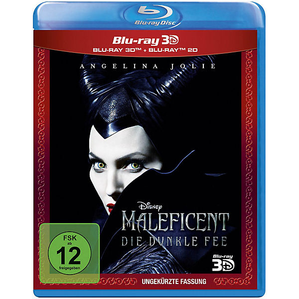 BLU-RAY Maleficent - Die dunkle Fee (3D Vers.)