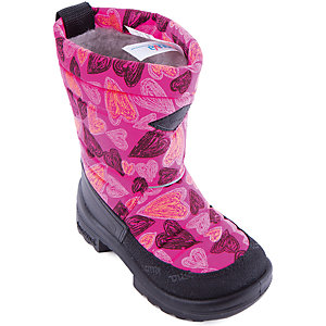 Зимние сапоги для девочки KUOMA - розовый