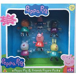 """Игровой набор """"Пеппа и друзья"""" 6 фигурок, Свинка Пеппа"""