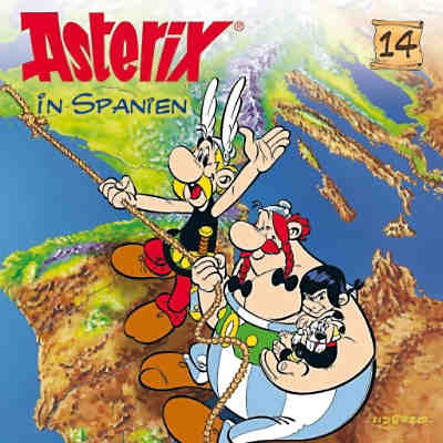 CD Asterix 14 - Asterix in Spanien
