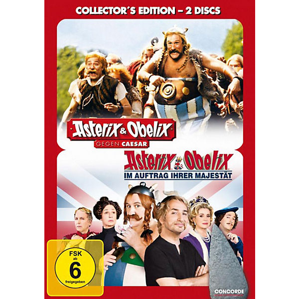 DVD Asterix & Obelix - Collectors Edition (2 Filme)