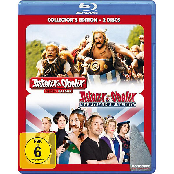 BLU-RAY Asterix & Obelix -Collectors Edition (2 Filme)