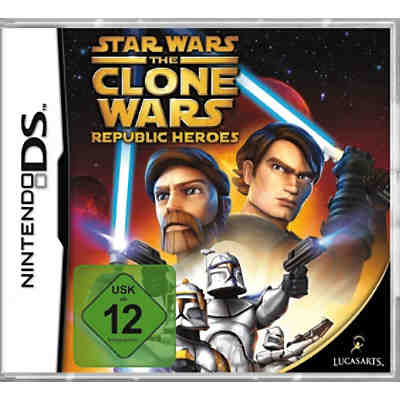 NDS The Clone Wars Republic Heroes