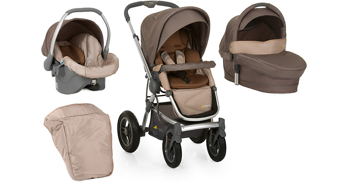Kombi Kinderwagen King Air Trioset, sand, 2016 beige