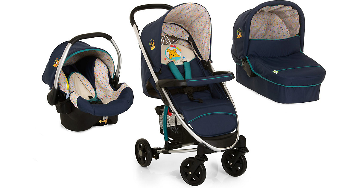 Kombi Kinderwagen Miami 4 Trioset, pooh ready to play, 2016 mehrfarbig